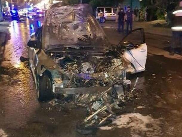 Залетевший на скорости под иномарку 14-летний скутерист погиб от полученных травм в Ростове