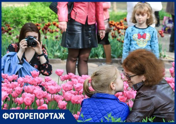Выступления мотофристайлеров, фестиваль тюльпанов и много спорта: как в Ростове встретили Первое мая