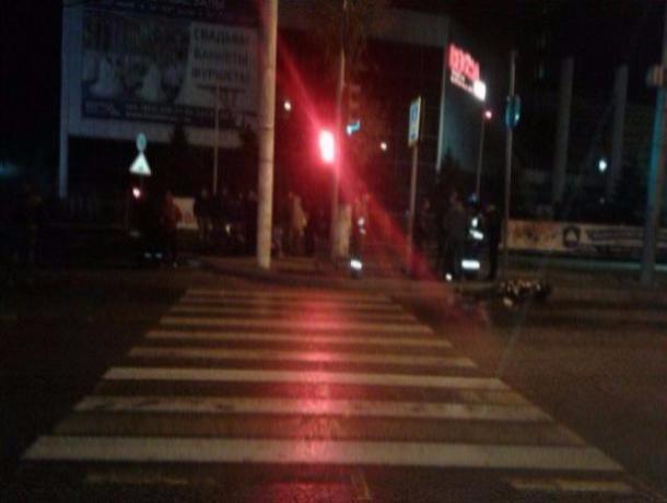 НаНагибина мотоциклист умер, врезавшись в Хендай