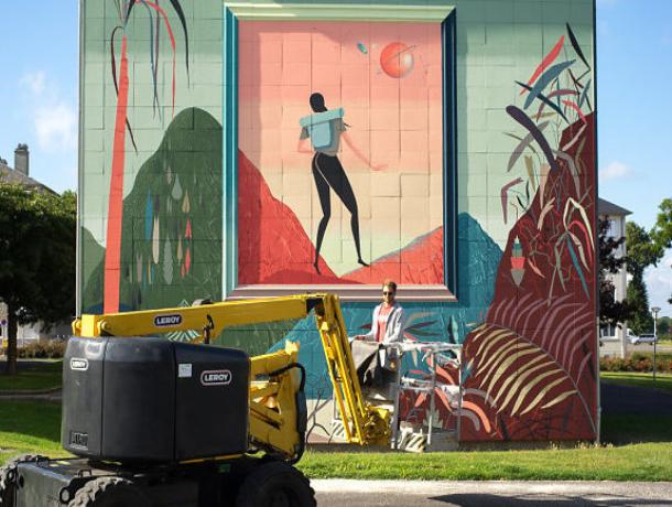 Фреска французского художника украсит фасад здания в Ростове