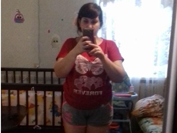 Александра Тонкова хочет сбросить 20 килограммов, которые набрала во время беременности