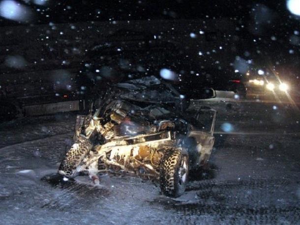 В Ростовской области массовое ДТП на трассе М-4 стало смертельным