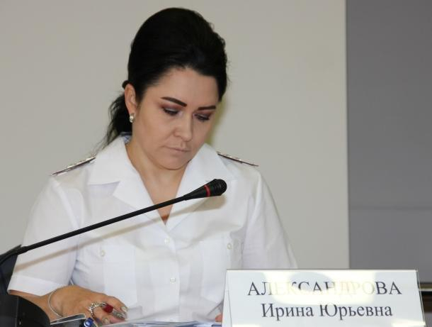 Спецслужбы задержали и.о. начальника УФНС Ростовской области Ирину Александрову