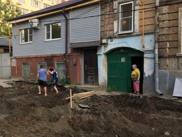 Скотское отношение чиновников достало жителей улицы Станиславского в Ростове