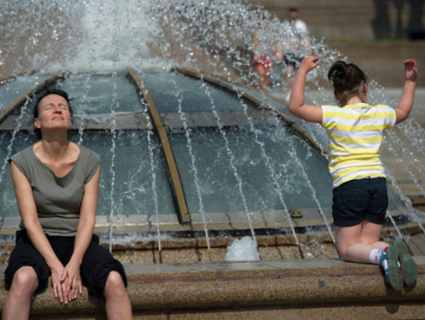 Жарой до 35 градусов порадует ростовчан середина рабочей недели