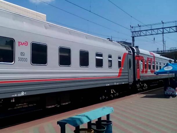 Дополнительный поезд запустят из Ростова в Кисловодск в июньские праздники