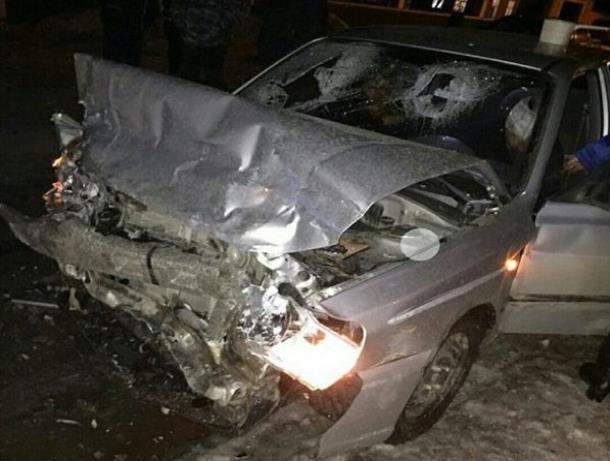 В Ростовской области в ДТП пострадали четыре человка
