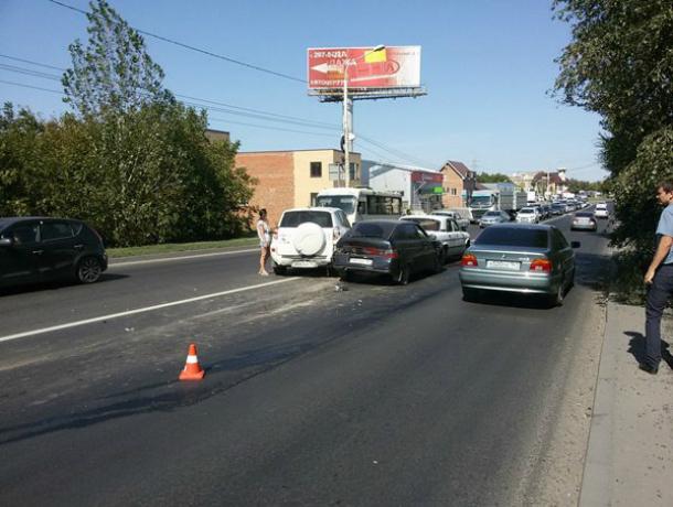 ВДТП сучастием такси вцентральной части Москвы пострадали три человека