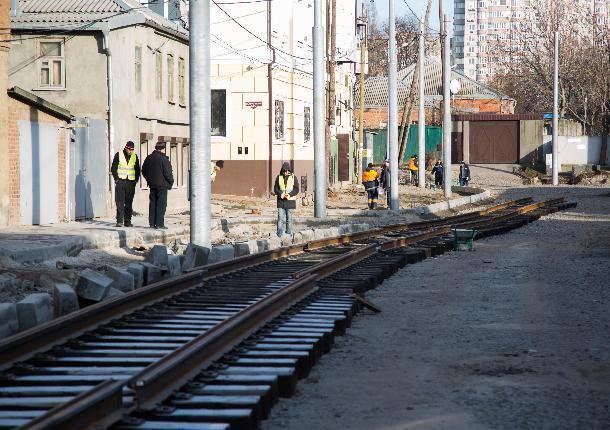 Для ремонта трамвайных путей в Новочеркасске правительство выделит 54 миллиона рублей