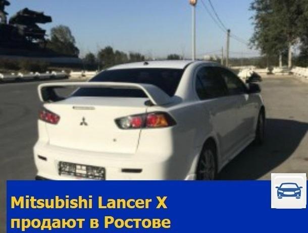Mitsubishi Lancer X продают в Ростове