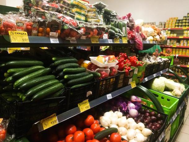 В 2019 году еда будет дорожать: цена овощей увеличится на 50%