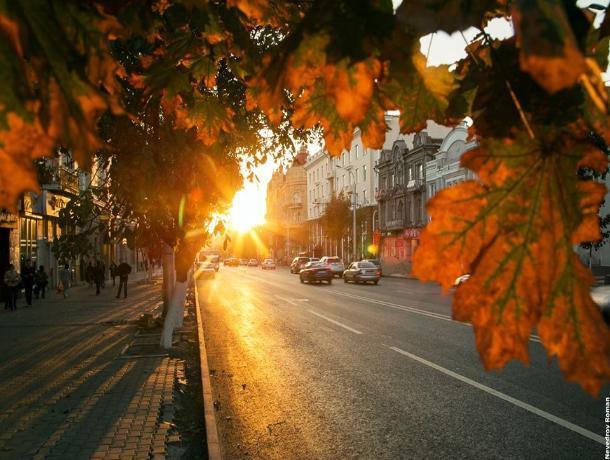 Прогноз погоды на 16 сентября в Ростове: холодное утро и теплый полдень