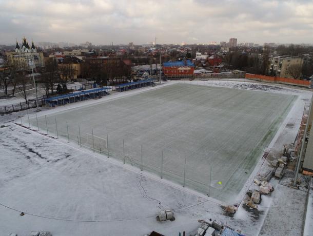 На благоустройство территории у стадиона «Локомотив» было выделено 9,5 миллионов рублей
