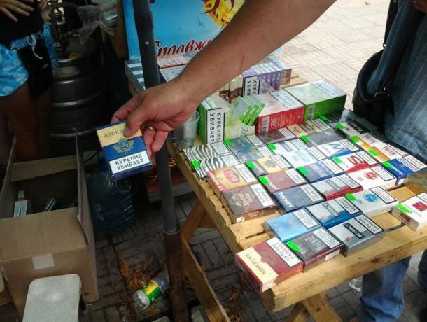 Почти половина продаваемых сигарет в Ростове оказалась контрафактом