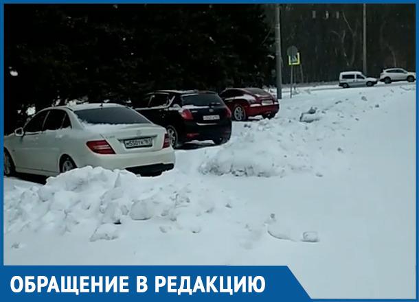 «Люди сами откапываются от снега!»: ростовчанин пожаловался на плохую работу коммунальщиков