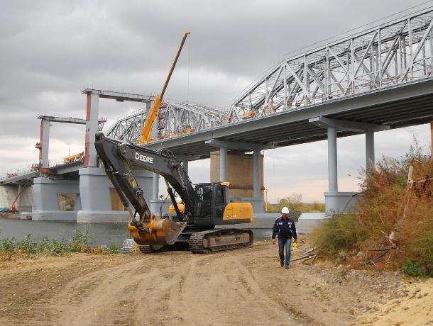 В Ростовской области до конца года достроят мост в Каменск-Шахтинском