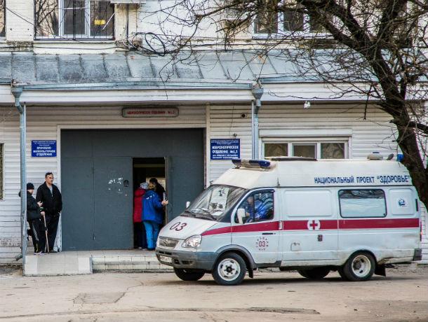 В Ростовской области столкнулись автобус и иномарка