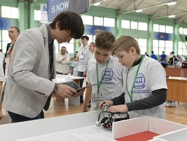 Сто юных ростовчан поборются за победу на ростовском Робофесте