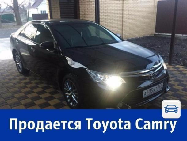 Toyota Camry с родным железом продается в Ростове
