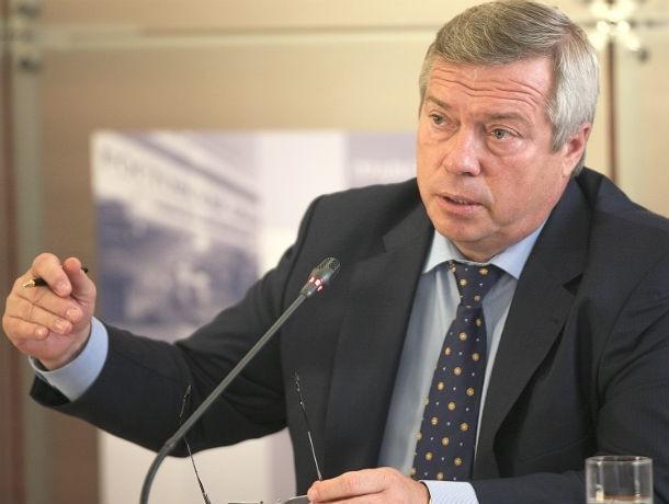 Ростовский губернатор Василий Голубев обогнал в списке Forbes Жириновского и Кадырова