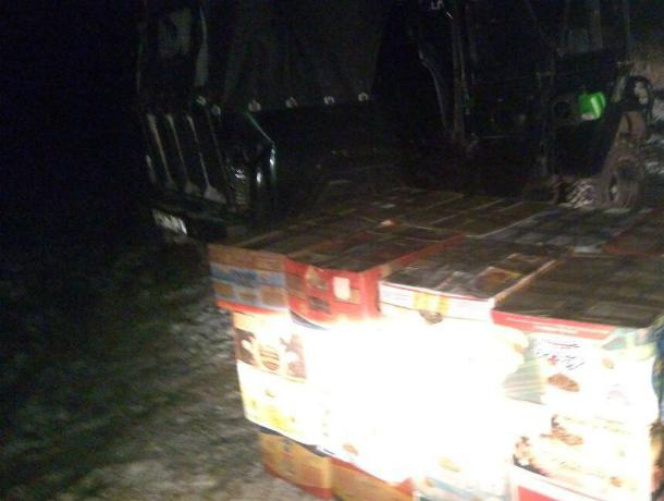 Ореховую контрабанду на полмиллиона пытались провезти злоумышленники в Ростовской области