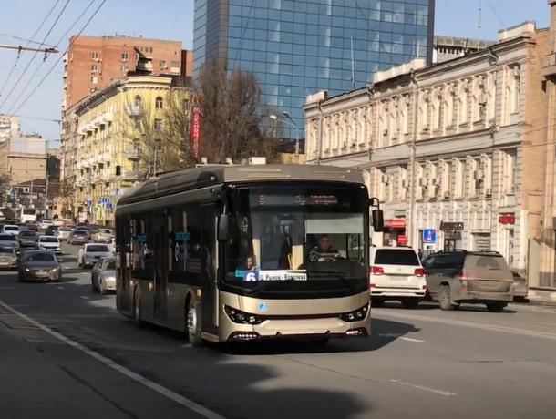 TROLZA вышел на улицы: в Ростов прибыл уникальный троллейбус. Видео