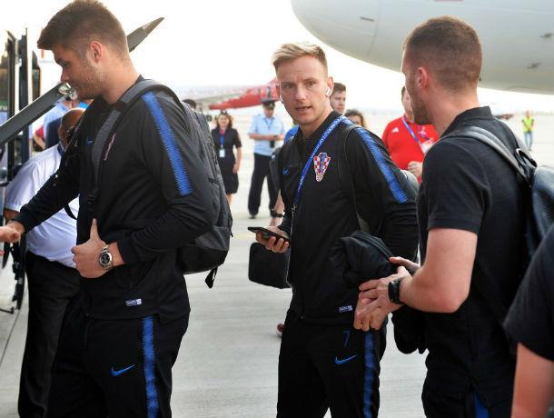 Мечтающая победить сборная Хорватии осваивается в первые часы в Ростове
