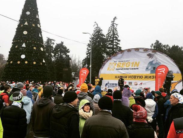 Забег «Begin: Побегай 1января» собрал около 2-х тыс. ростовчан