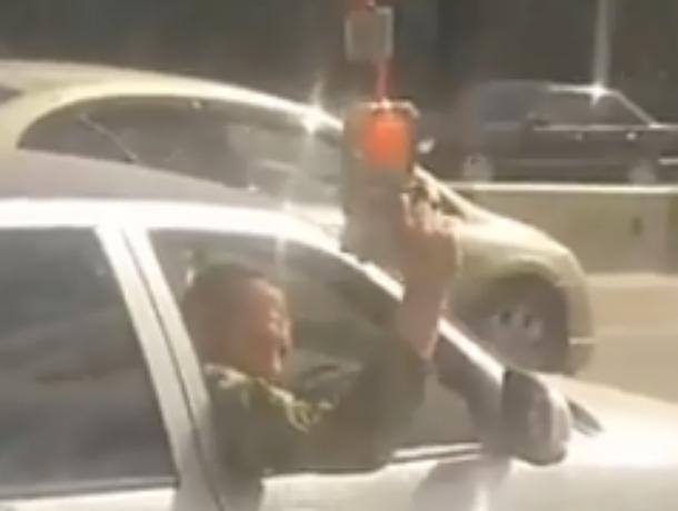 Кавказец с автоматом «покушался» на водителя автобуса в Ростове