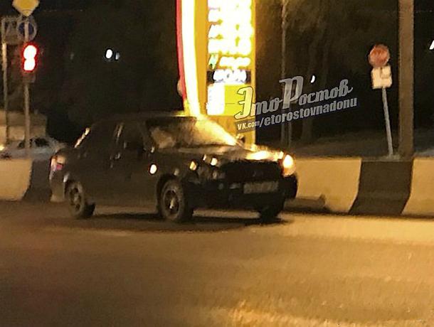 Страшный ударом головой об асфальт закончилась встреча с «Ладой» для торопливого пешехода в Ростове