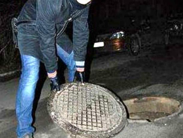«Сообразили на троих»: украденную крышку люка сдали в металлолом находчивые ростовчане