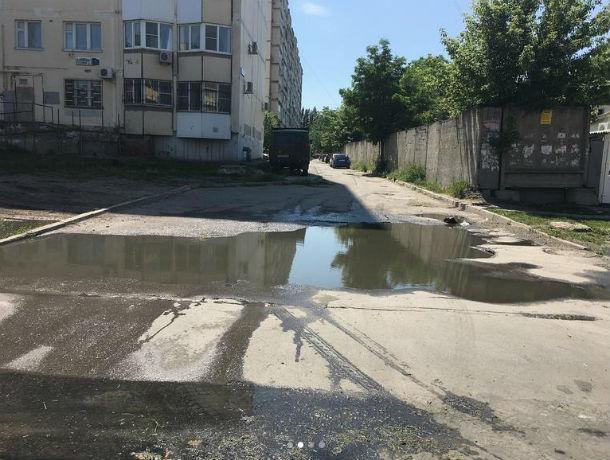 Понюхать текущие два дня стоки на улице Горшкова пригласили губернатора Ростовской области