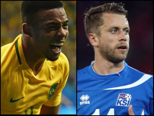 Молодой бразильский талант и возрастной исландский футболист сыграют на ЧМ-2018 в Ростове