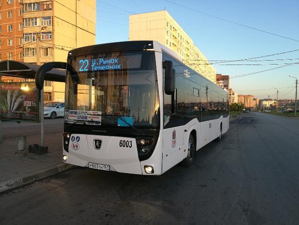 Большие автобусы возвращаются на маршрут №22 в Ростове