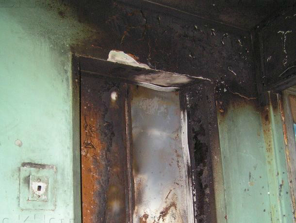 ВРостовской области жителя многоэтажки задержали заподжог лифта