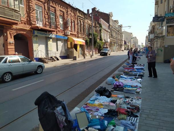 В Ростове найдут место под стихийные рынки и овощные развалы