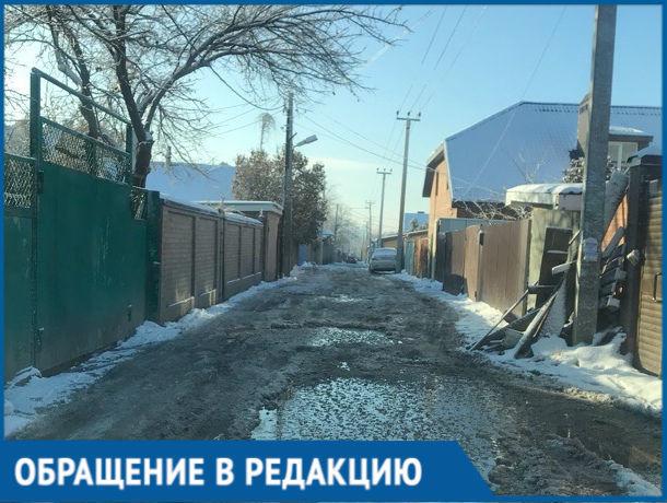 Жители Первомайского района Ростова-на-Дону тонут в лужах
