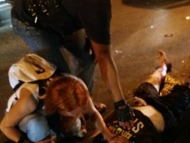Байкеры уговорили врачей реанимации забрать сбитого на трассе под Ростовом велосипедиста
