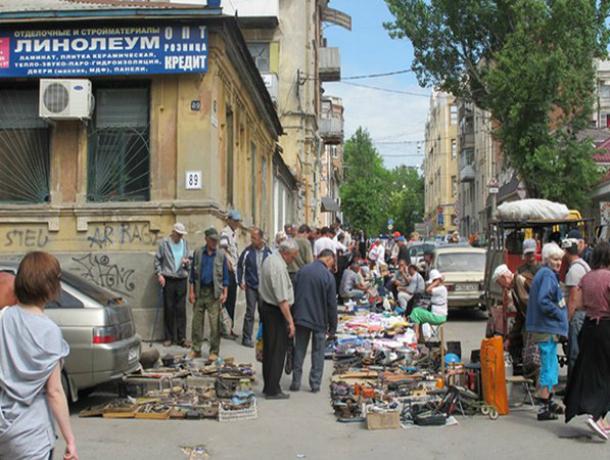В Ростове потребовали прекратить торговлю на Станиславского