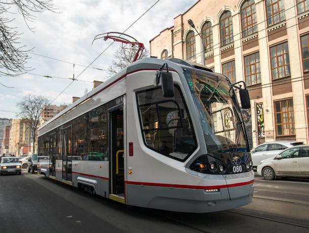 Схема движения основных трамвайных маршрутов в центре Ростова изменится с июня