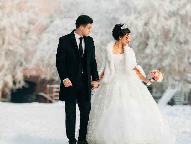 Ростовские новобрачные перестали считать День святого Валентина праздником любви