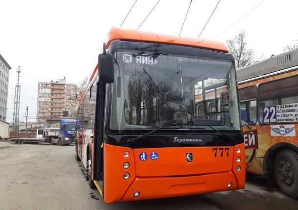 В Ростов на испытания привезли троллейбус с  wi-fi из Уфы