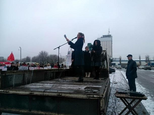 Крупный митинг против смертельно опасного загрязнения состоялся в Левенцовке