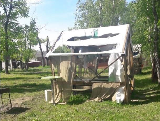 Неизвестные устроили погром на базе отдыха в Ростове