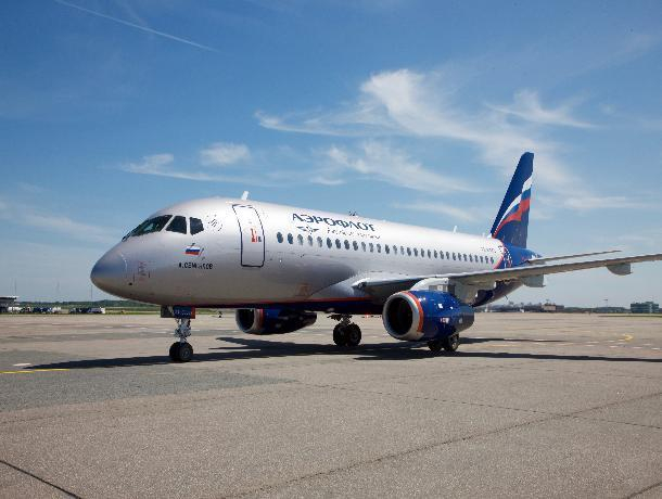 В Ростове самолёт Sukhoi Superjet 100 «Аэрофлота» не смог вылететь в Москву