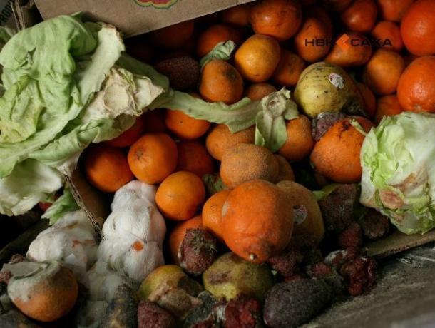 Больше трех тонн порченных овощей и фруктов чуть было не попали на прилавки Ростова