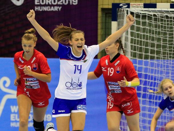 Ростовские гандболистки помогли российской сборной выйти в основной раунд Евро U-19