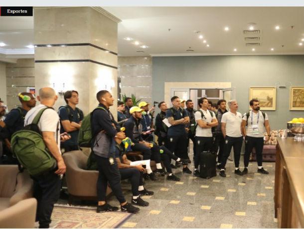 Чтобы поддержать сборную Бразилии  в Ростов прилетел Роналдо