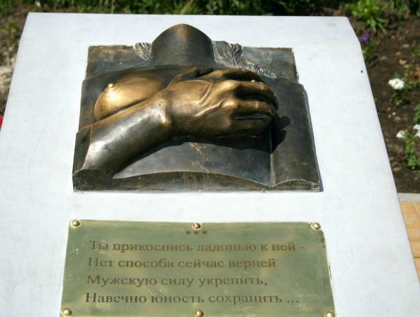 Оголенная женская грудь оказывает мистическое воздействие на мужчин Ростовской области