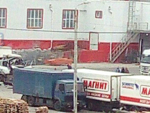 Взрыв прогремел вБатайске наскладе «Магнита»